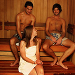 Sauna Facilities at Nomads Queenstown