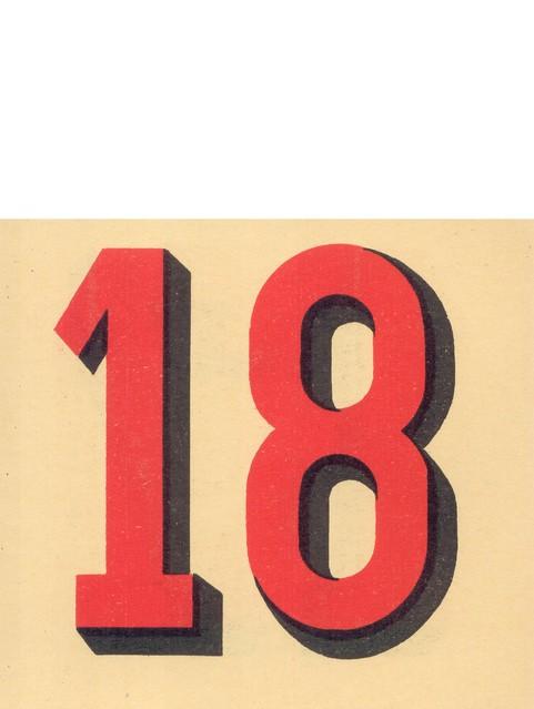 calendrier n18