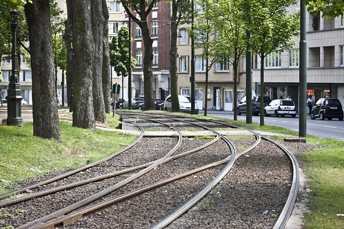Brussels - Tram system by infomatique