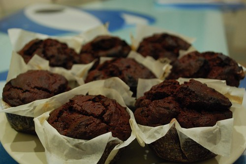 Julia's Beetroot Chocolate Muffins