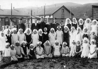 Junior Red Cross Circle, Albany St., School, Dunedin, New Zealand, c1929