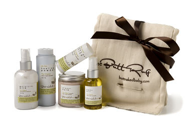 All-Natural Organic Baby Care Set by Butt Naked Baby