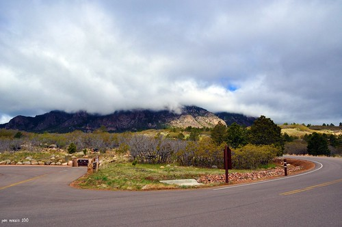 morning sky storm rain clouds colorado coloradosprings co cheyennemountain pammorris satepark nikond5000 denverpam