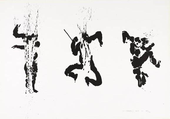 Cú Chulainn in warp spasm, by Louis le Brocquy