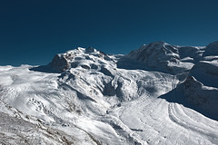 alps, mountain, winter, snow, glacial landform, mountain range, glacier, summit, arãªte, fell, massif, mountainous landforms,