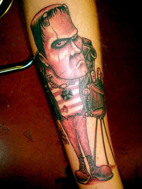 Frankenstein Beatnik