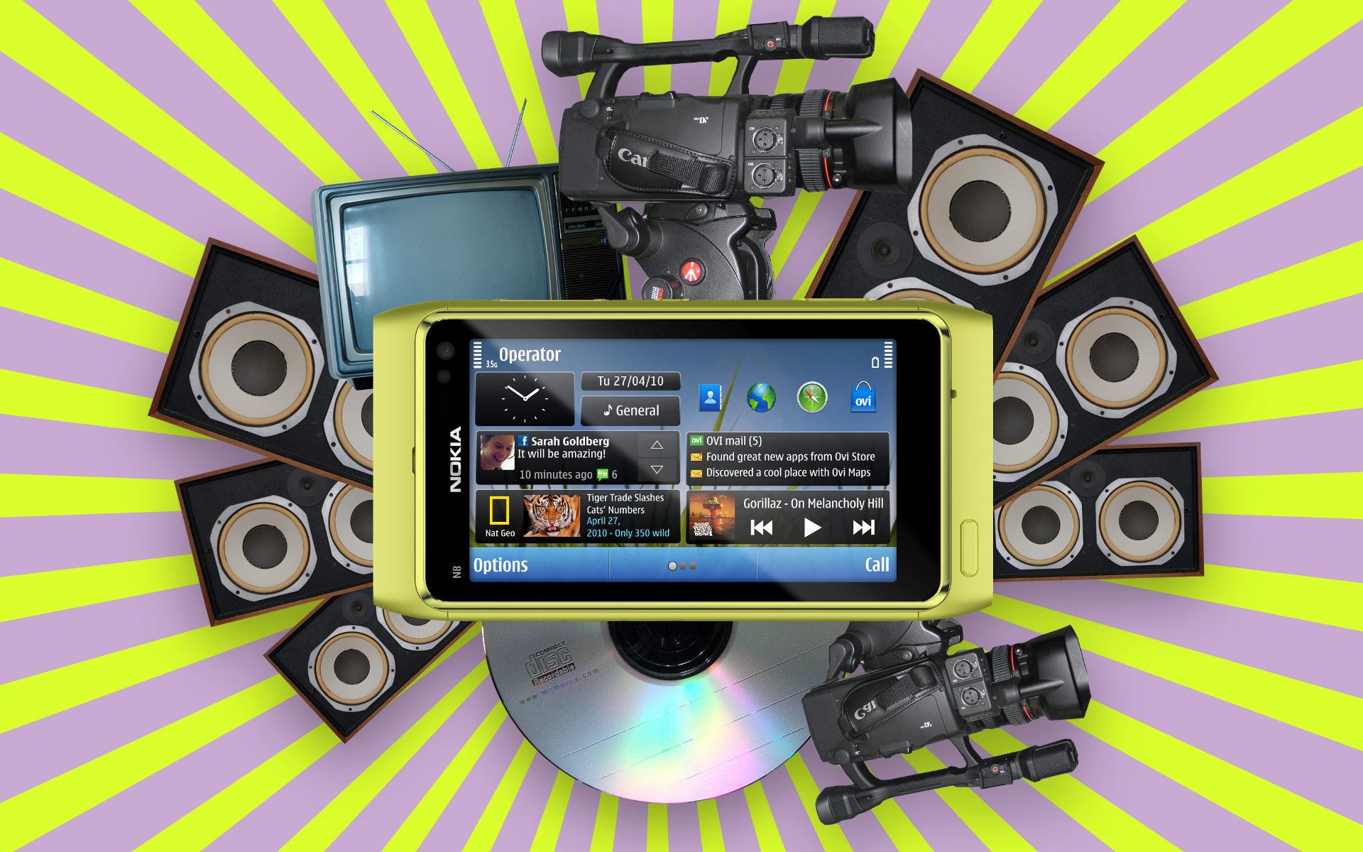 Dispositivos móviles con capacidades multimedia para buen UX
