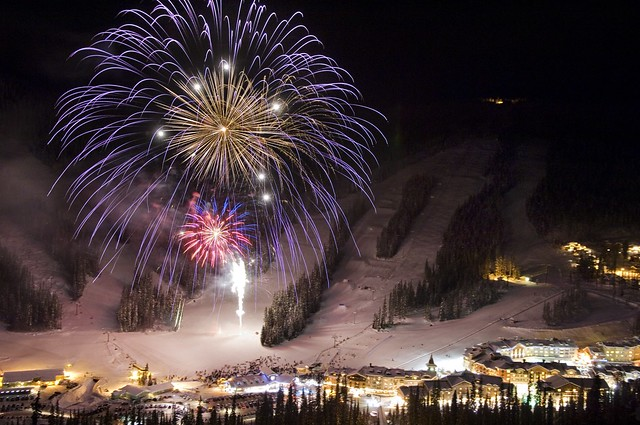 Sun Peaks New Year's Eve (Adam Stein)