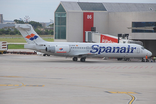 EC-KHX / Boeing 717-200 / Spanair.