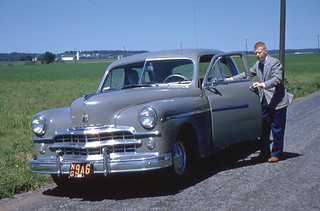 Roger and 1949 Dodge (1955)