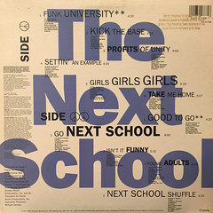 THE NEXT SCHOOL:SETTIN' AN EXAMPLE(JACKET B)