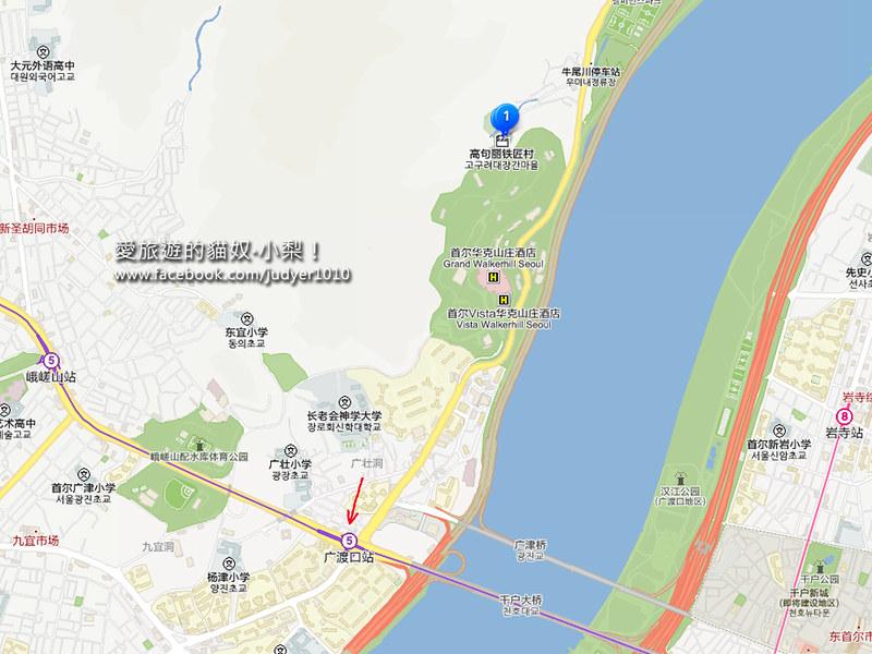 高句麗鐵匠村地圖2