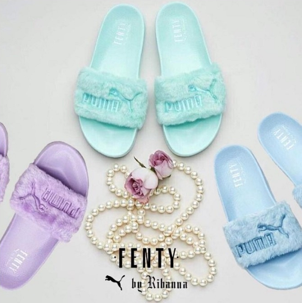 FENTY PUMA by Rihanna「ファースライド」に3つの新色が限定発売!
