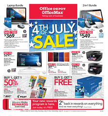 Office Depot / OfficeMax Ad July 2 - 8, 2017