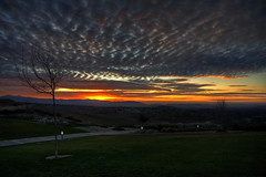 Sycamore Highlands Sunset