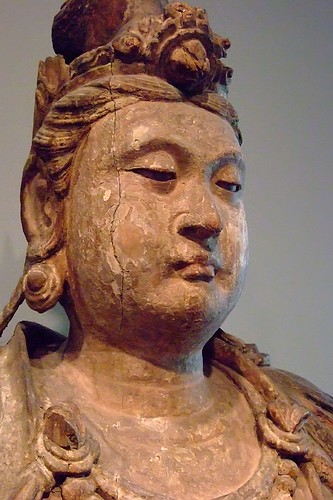 The Bodhisattva Avalokiteshvara (Guanyin) China Song dynasty 1100-1200 CE Wood