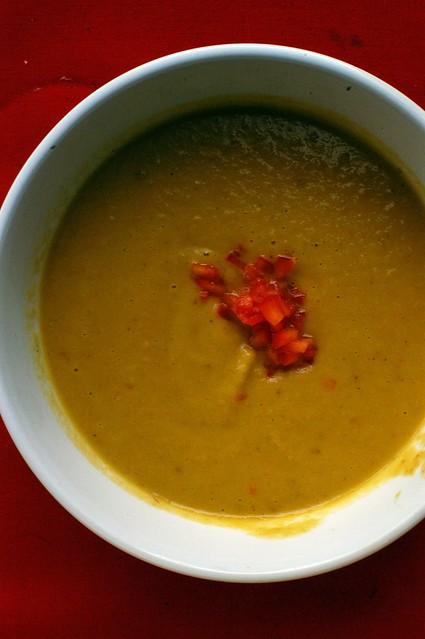 sweet potato chorizo soup | Flickr - Photo Sharing!