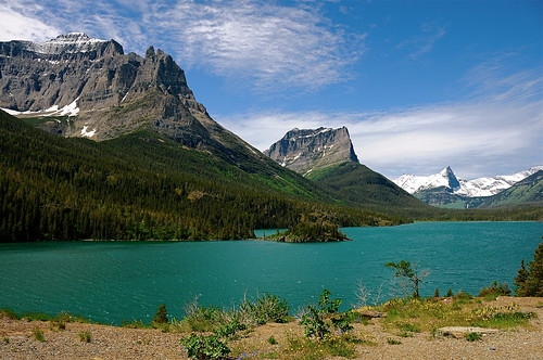 lakes glaciernationalpark peaks stmarylake nationalgeographic gnp scenicsnotjustlandscapes