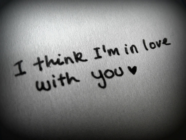 think Im in love with you Flickr - Photo Sharing!