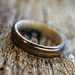 Ziricote and Grey Maple Ring by stoutwoodworks