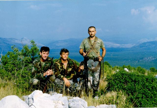 Hrvatski branitelji - druga bojna 163. brigade Hrvatske vojske dubrovački branitelji