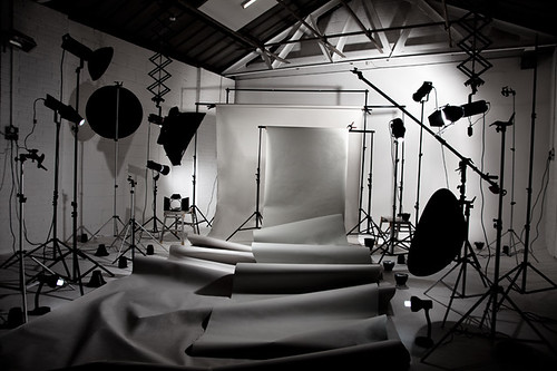 penempatan lighting studio