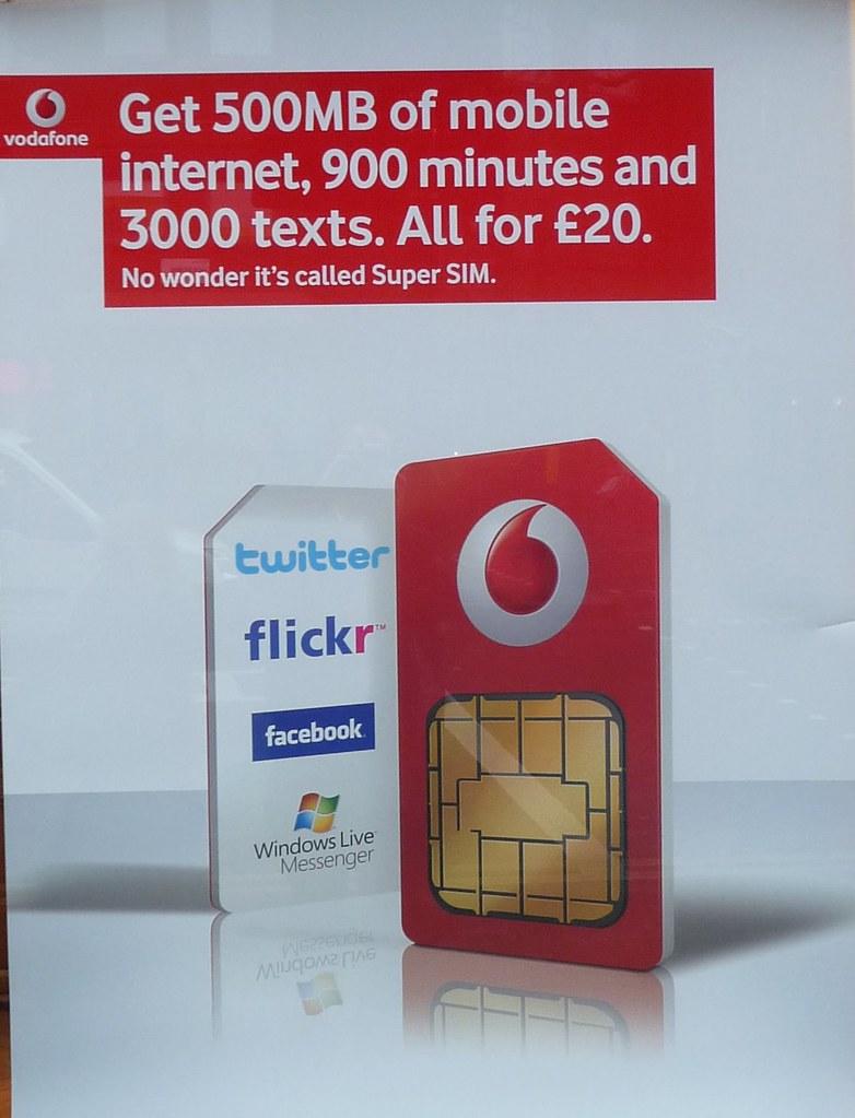 Vodafone super SIM | A generous SIM-only bundle from Vodafon