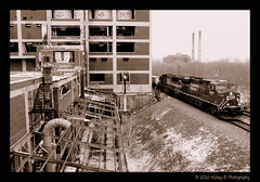 Railfanning and urbex