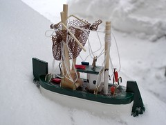 Ship Trapped In Ice