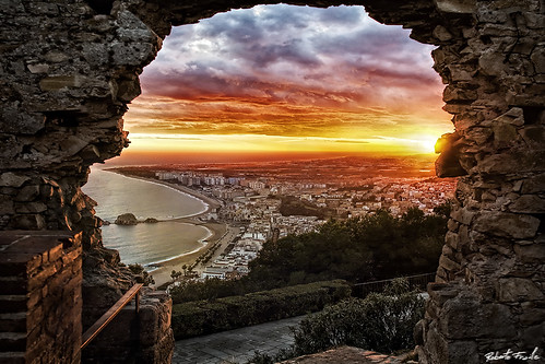 Ventana a Blanes - Window to Blanes