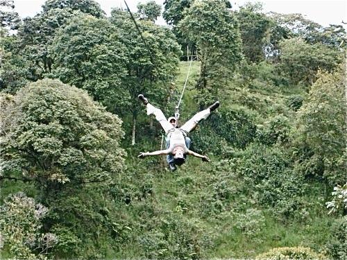Canopy tour Mindo - Ecuador '08