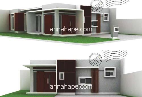 Image Result For Denah Rumah Modern