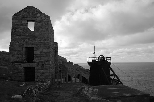 Levant Tin Mine, Pendeen, Cornwall by Stocker Images