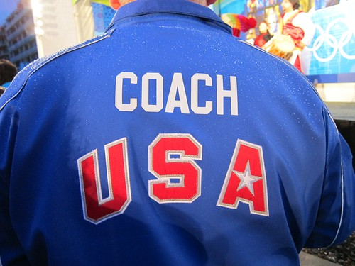 Team USA coach