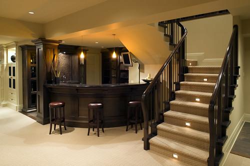 Basement renovation - Add a wet bar