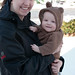 Snow Bear Max & Mommy by Richard Powers