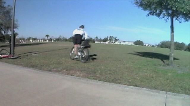 Dismount, drop & run