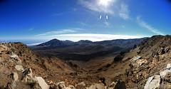 Haleakala crater rim panorama