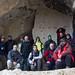 Foto de grupo en las cuevas de Laño by DRGfoto