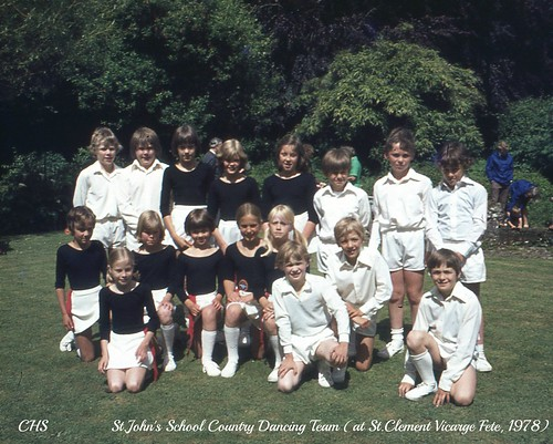 St.John's School County Dancing Team, 1979/80 by www.stockerimages.blogspot.co.uk