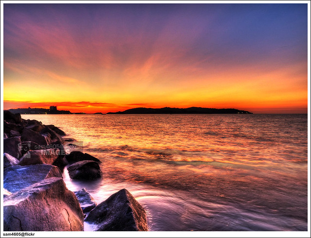 Sunset on February 6, 2010 - Kota Kinabalu Sabah