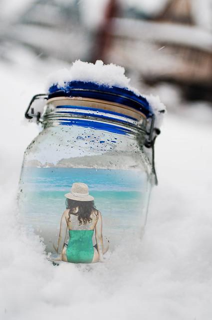 I keep my wish in a jar