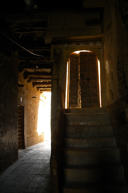 alleyway in Jaisalmer