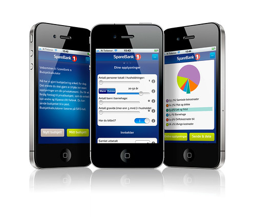 Budsjettkalkulator for iPhone og iPad