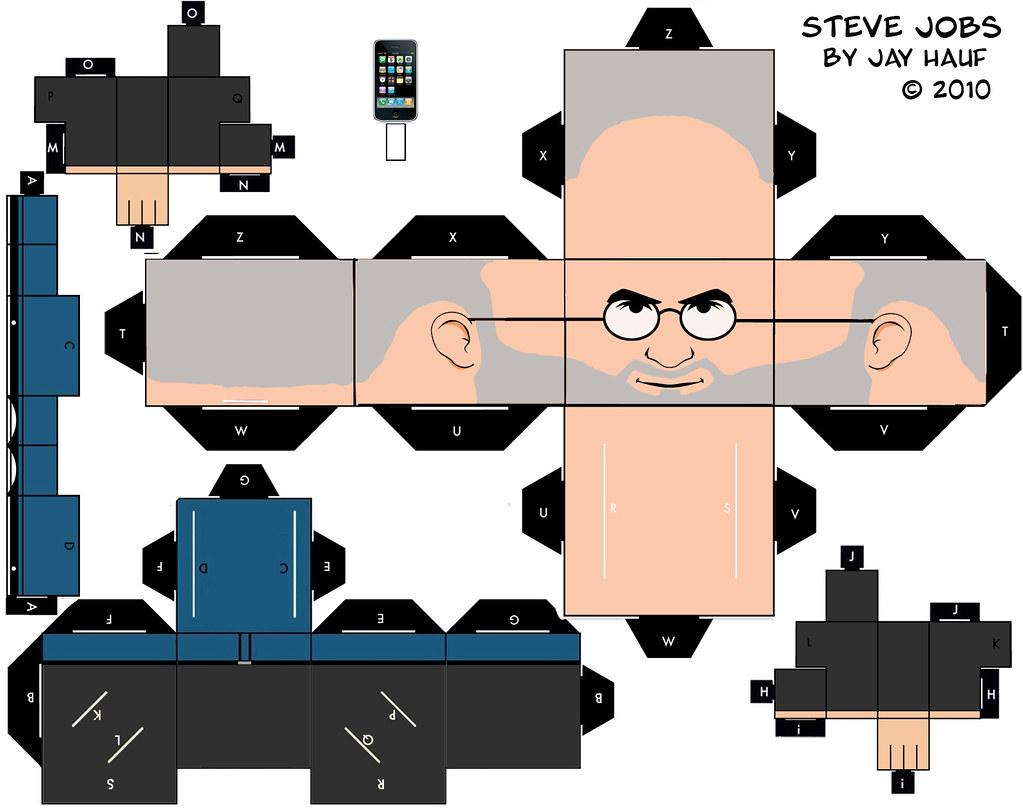 Steve Jobs Cut Out