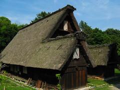 白川の合掌造り民家 Shirakawa-go house