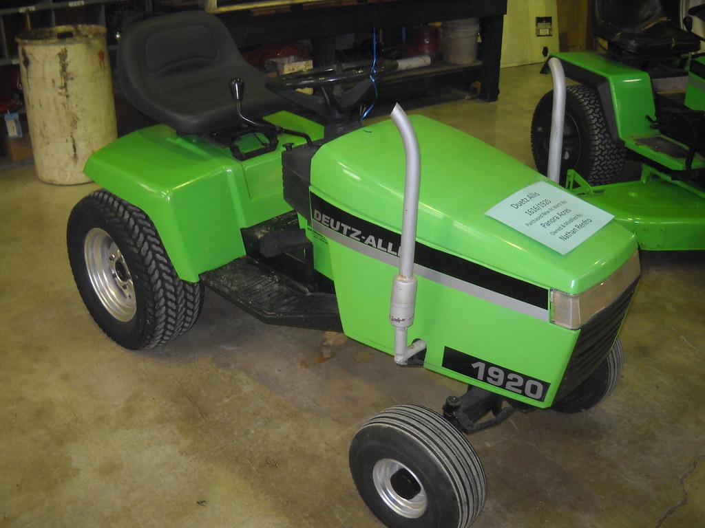 Deutz Allis 1920 Model Garden Tractor