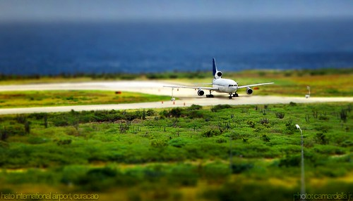 Curacao Hato International Airport - Tilt Shift