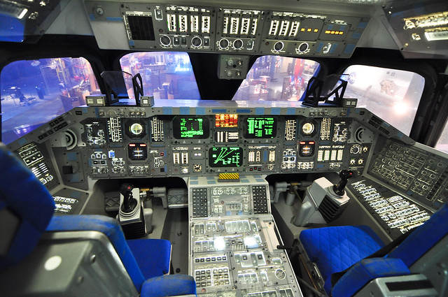 space shuttle home cockpit - photo #17