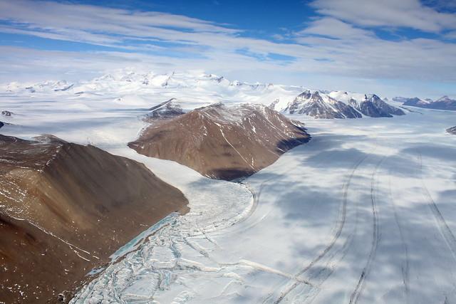 Los valles secos de McMurdo. Tierra Victoria. La Antártida